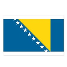Bosnian Flag Postcards (Package of 8)