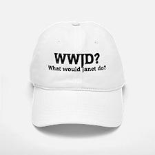 What would Janet do? Baseball Baseball Cap