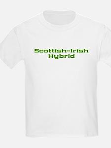 Scottish Irish Hybrid Kids T-Shirt
