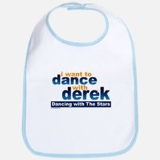 I want to Dance with Derek Bib