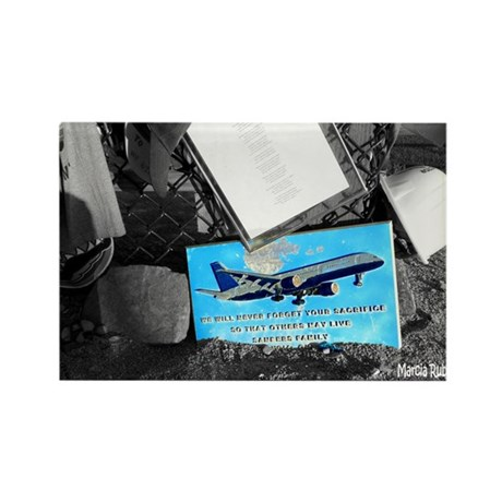 Flight 93 Memorial Rectangle Magnet (10 pack)