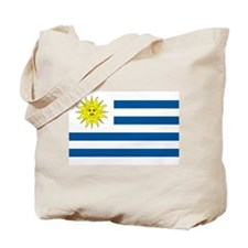 Uruguay Flag Tote Bag