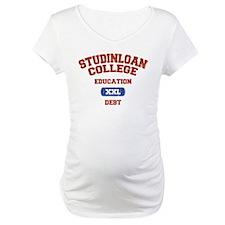 College Education Debt Shirt