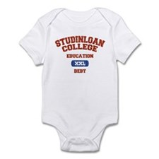 College Education Debt Infant Bodysuit
