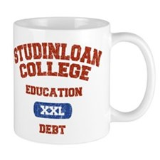 College Education Debt Mug