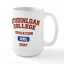 College Education Debt Mug