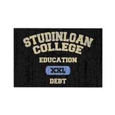 College Education Debt Rectangle Magnet