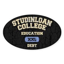 College Education Debt Decal