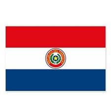 Paraguay Flag Postcards (Package of 8)