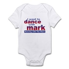 I Want to Dance with Mark Infant Bodysuit