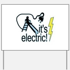 The Electric Slide Yard Sign
