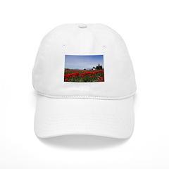 Red Tulips Baseball Cap