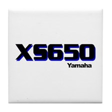 XS650 Tile Coaster