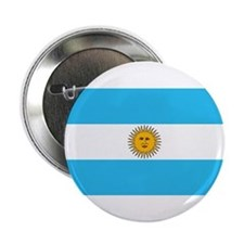 "Argentina Flag 2.25"" Button (10 pack)"