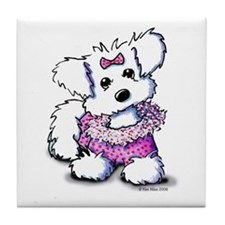 Fashion Princess Tile Coaster