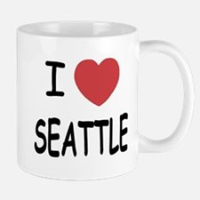 I heart Seattle Mug