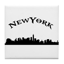 Cool New york city skyline Tile Coaster
