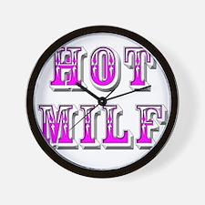 HOT MILF Wall Clock