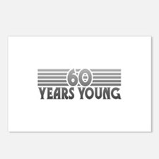 60 Years Young Postcards (Package of 8)