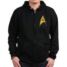 Starfleet Command Zip Hoodie