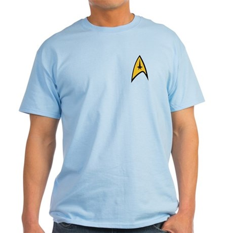 Starfleet Command Light T-Shirt