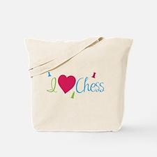 I Heart Chess Tote Bag