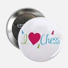 "I Heart Chess 2.25"" Button"