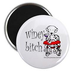 Winey Dalmatian Magnet