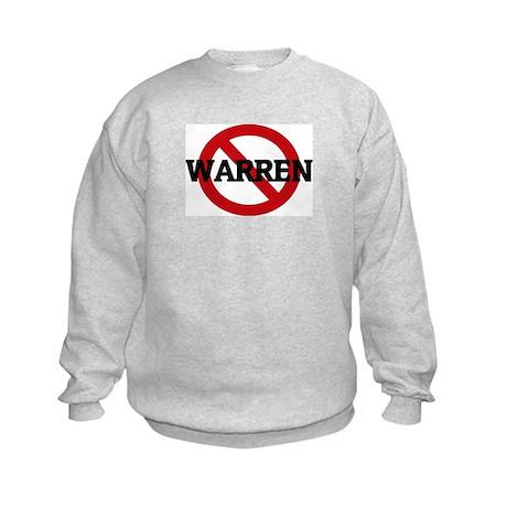 Anti-Warren Kids Sweatshirt