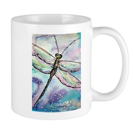 Dragonfly, Beautiful, Mug