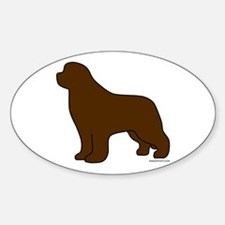 Brown Newfoundland Silhouette Decal