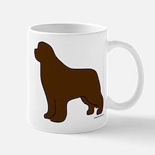 Brown Newfoundland Silhouette Mug