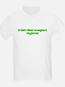 Irish Norwegian Hybrid Kids T-Shirt