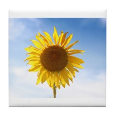 Sunflower Tile Coaster