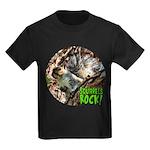 Squirrel in Tree Photo Kids Dark T-Shirt