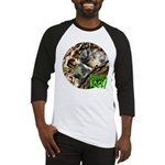 Squirrel in Tree Photo Baseball Jersey