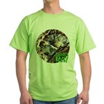Squirrel in Tree Photo Green T-Shirt