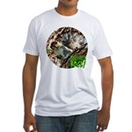 Squirrel in Tree Photo Fitted T-Shirt