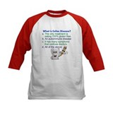 Celiac kids Baseball Jersey