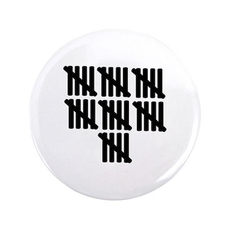 """35th birthday 3.5"""" Button"""
