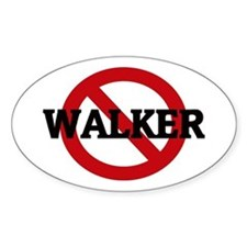 Anti-Walker Oval Decal