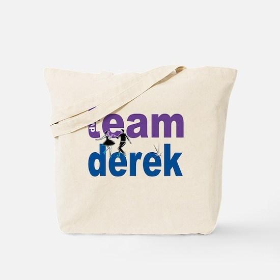 Team Derek DWTS Tote Bag