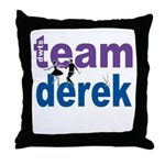 Team Derek DWTS Throw Pillow