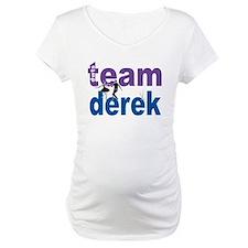 Team Derek DWTS Maternity T-Shirt