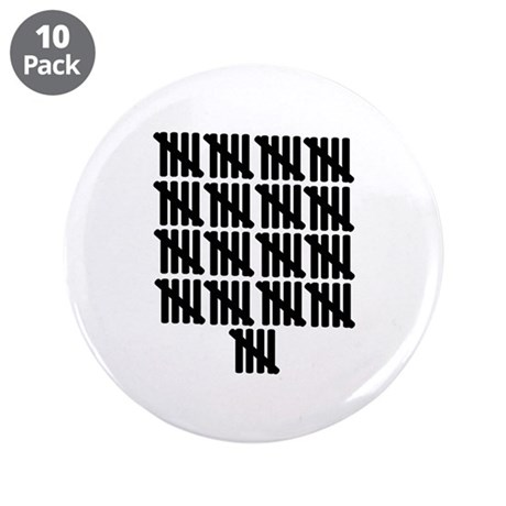 """85th birthday 3.5"""" Button (10 pack)"""