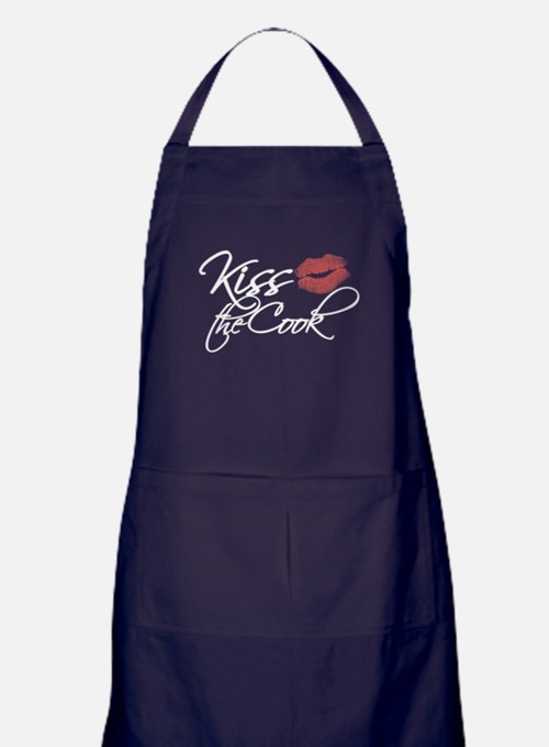 Cute Kiss Apron (dark)
