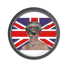 Cute British royalty Wall Clock