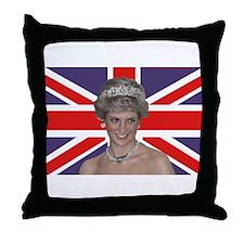Cute British royalty Throw Pillow