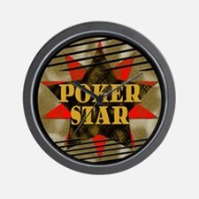 Poker Star! Wall Clock