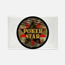 Poker Star! Rectangle Magnet